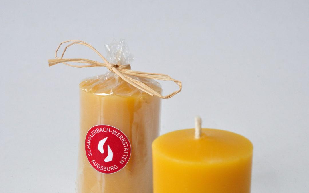 Zylindrische Kerzen